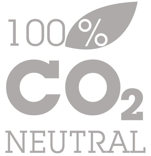 Logo: CO2-Kompensiert